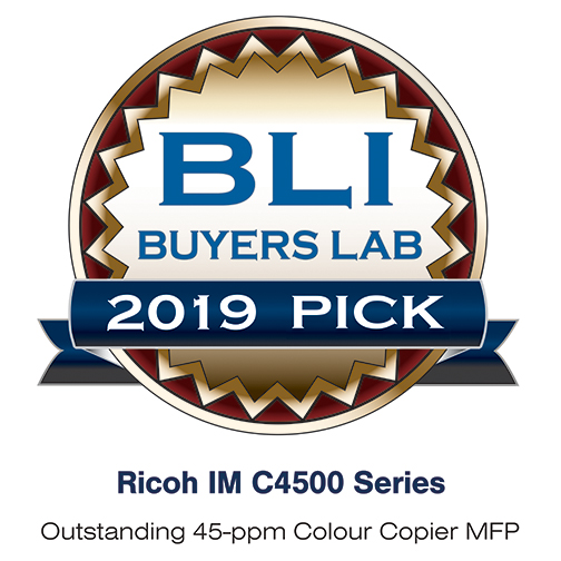 IM C4500 - BLI Award - 2019 Pick