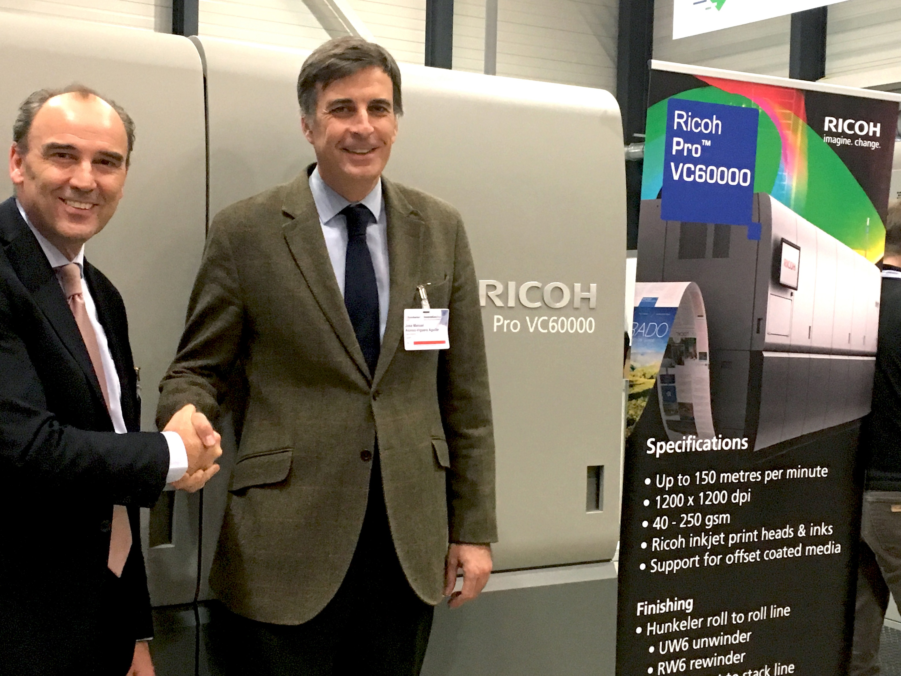 Servinform chooses Ricoh Pro VC60000 to reach new markets.